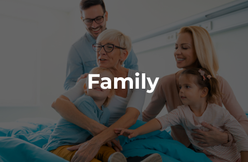 Family is important and we make it our priority to keep you involved in the care we provide.